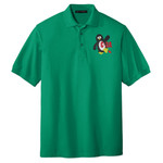 W113 - C-3A Section Logo - Emb - K500 - C-3A Section Logo Pique Polo