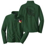 W113 - C-3A Section Logo - Emb - F217 - C-3A Section Logo Fleece Jacket with Laser Etch Back