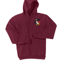 PC90H - W113-C-3A Section Logo - EMB - C-3A Section Logo Pullover Hoodie